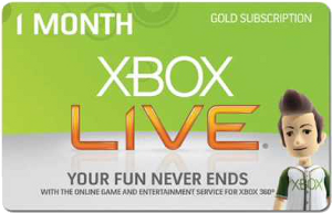 Free Month Of Xbox Live